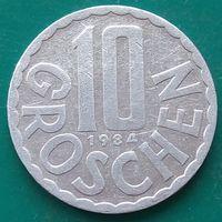 10 грошей 1984 АВСТРИЯ