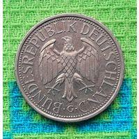 Германия 1 марка 1988 года. Монетный двор G.