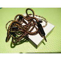 Провод к наушникам с разъёмами 3.5мм и 2 mmcx