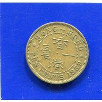 Гонконг 10 центов 1959. Лот 2