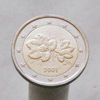 Финляндия 2 евро 2001