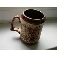 Кружка пивная Одесса кубок чашка керамика