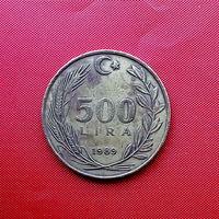 96-22 Турция, 500 лир 1989 г.