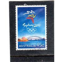 Австралия.  Mi:AU 1850. Эмблема. Олимпийские игры-2000. Сидней. 1999.