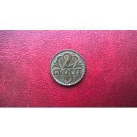 Польша 2 гроша, 1928г.  (D-4.3)