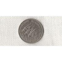 Габон 100 франков 1985 /фауна/ (МP)