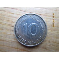 10 pfennig D 1989