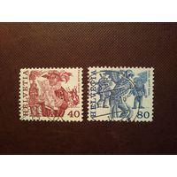 Швейцария 1977 г.Народные обычаи.