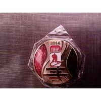 Медаль Чемпионат Мира по хоккею 2014 в Минске (золото)