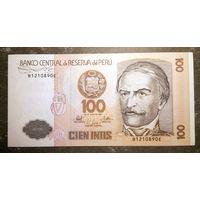 Перу 100 Интис 1987 Рамон Кастилья-и-Маркесадо UNC