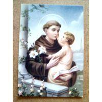 Иконка католическая.Св.Антоний.