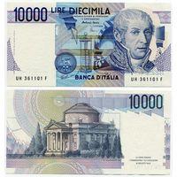 Италия. 10 000 лир (образца 1984 года, P112d, UNC)