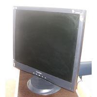 """Монитор ViewSonic VA903B 19"""". Антистатическое антибликовое покрытие экрана. Отличное состояние. Недорого"""