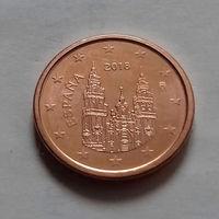 5 евроцентов, Испания 2018 г., UNC