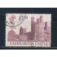 Великобритания 1988 ЕII Замки Карнарвон Уэльс Стандарт #1175
