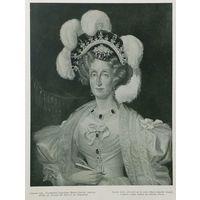 Баронъ Гро.  Портретъ королевы Марии-Амелии.