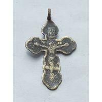 Крестик православный с клеймом