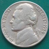 5 центов 1954 США