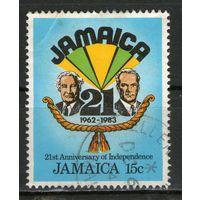 Ямайка. Гашеная. Лот-24
