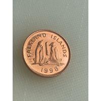 1 пенни 1998 г., Фолклендские острова
