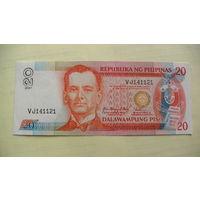 Филипины 20 писо 2007г. состояние распродажа