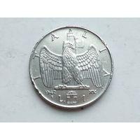 Италия 1 лира 1942г