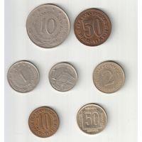 Набор монет Югославии