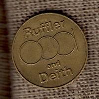 Жетон/ Ruffler и Deith /  пятерка