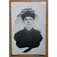 Фото красноармейца. 1937 г. 6х9 см.