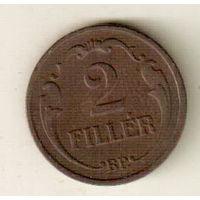 Венгрия 2 филлер 1927