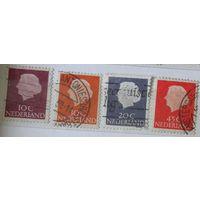 Королева Юлиана. Нидерланды. Дата выпуска:1953-1954