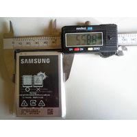 Аккумуляторная батарея Samsung B500BE 3.8v / 4.35v 1900mAh
