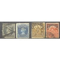 Чили \151м\ 1868\1904 марка Христофор Колумб. герб