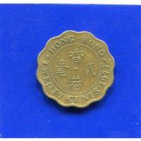 Гонконг 20 центов 1977. Лот 2