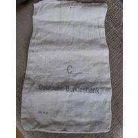 Банковский мешок.Deutsche Bundesbank.для монет.