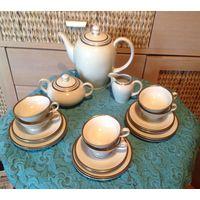 Сервиз Кофейно-Чайный на 6 персон Германия Bavaria костяной фарфор