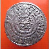 1/24 талера, Германия, 1617 год. Из старой коллекции (#04)