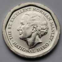 Ямайка, 5 долларов 1996 г.