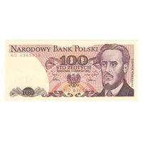 Польша 100 злотых 1986 года. Серия ND. Состояние UNC!