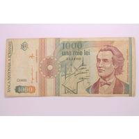 Румыния, 1000 лей 1991 год.