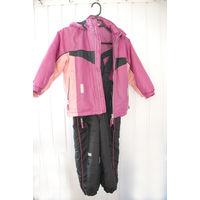 Комплект (куртка и полукомбинезон) на рост 110