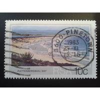 ЮАР 1983 морской берег, пляж