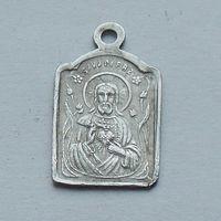 Католический медальон с Иисусом