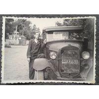 Фото автомобиля ГАЗ-АА (полуторка) Фото 1950-х. 8.5х11.5 см