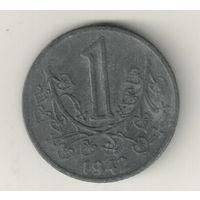 Богемия и Моравия 1 крона 1942