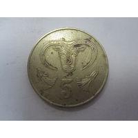 5 Центов 1983 (Кипр)