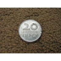 Венгрия 20 филлеров 1987 (1)
