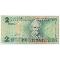Литва, 2 лита 1993 год.