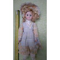 Кукла фарфоровая (11), 30 см