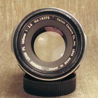 Canon FL 100mm 1:3.5 адаптированный на М42